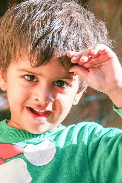 A boy in Jaisalmer, India ジャイサルメールの少年