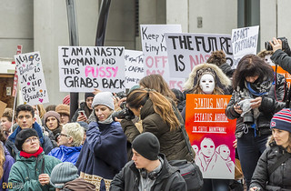 manif des femmes women's march montreal 13 | by Eva Blue