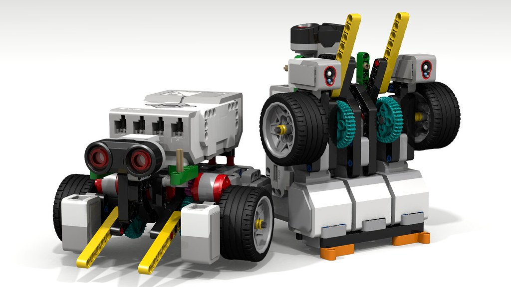 how to build a lego ev3 sumo bot