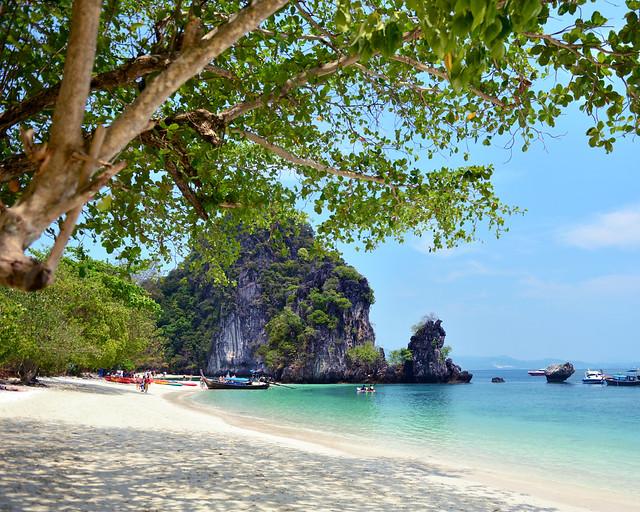 La increíble playa paradisíaca de Koh Hong, una de las más espectaculares de Tailandia