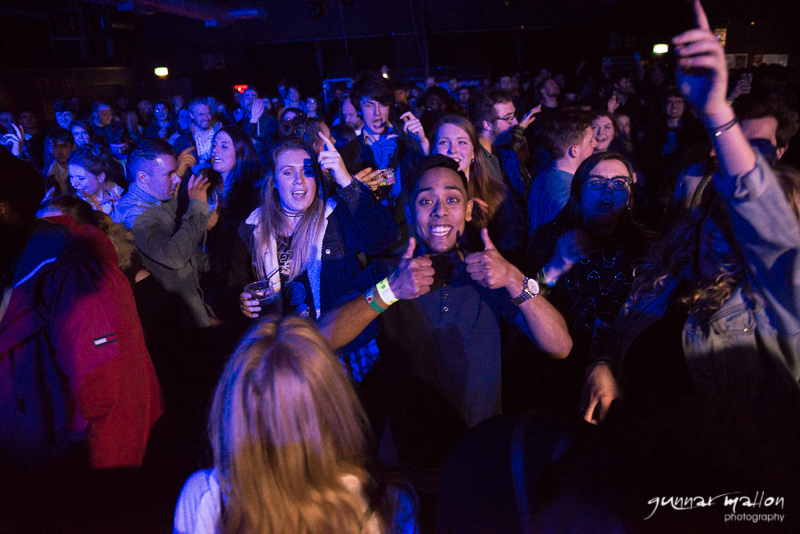 Audience enjoying Outlines Festival, Sheffield