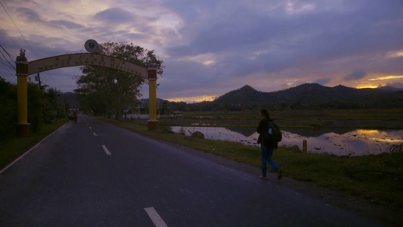 Sunset walking in Marinduque