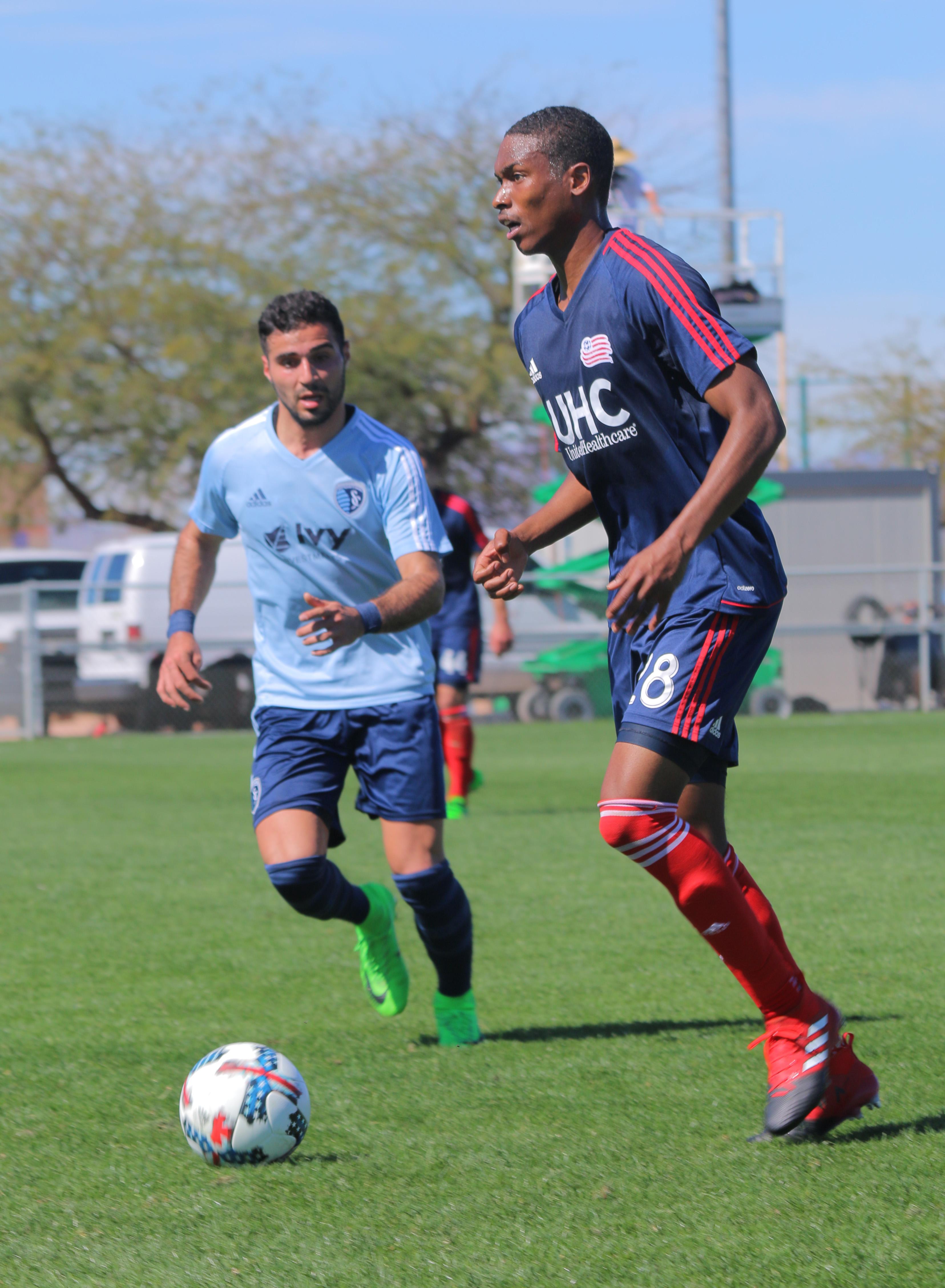 2017 Preseason: Desert Diamond Cup, Match 3 vs. Sporting Kansas City
