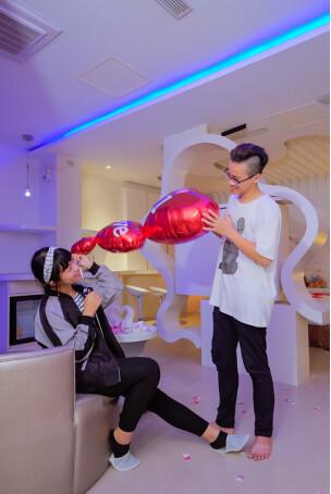 【台南主題汽車旅館推薦】媜13主題超多貝殼屋讓我度過美好的一晚_v2473