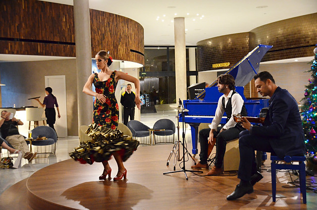 Flamenco at the Hard Rock Hotel, Playa Paraiso, Costa Adeje, Tenerife