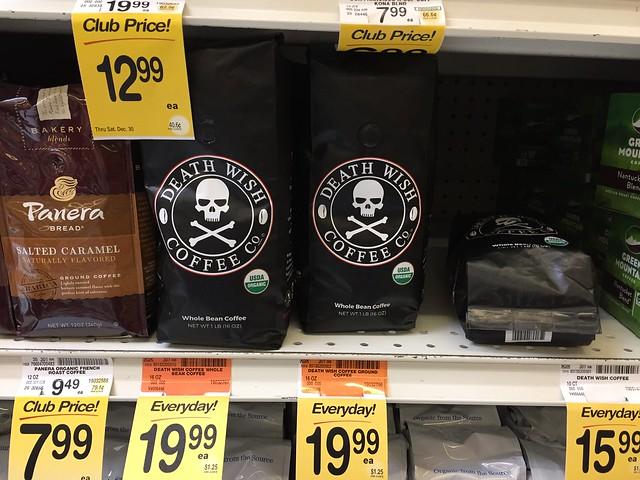 Death Wish Coffee at Safeway