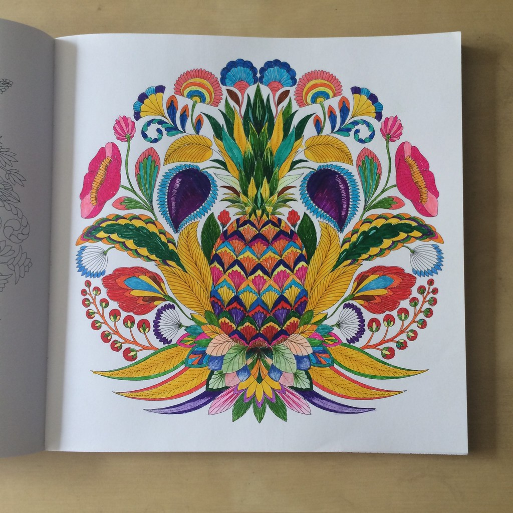 From Tropical Wonderland Coloring Book