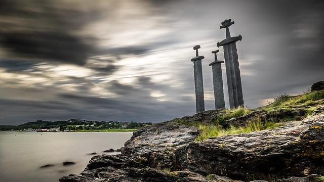 Sverd i fjell — Stavanger, Norway — Landscape, travel photography