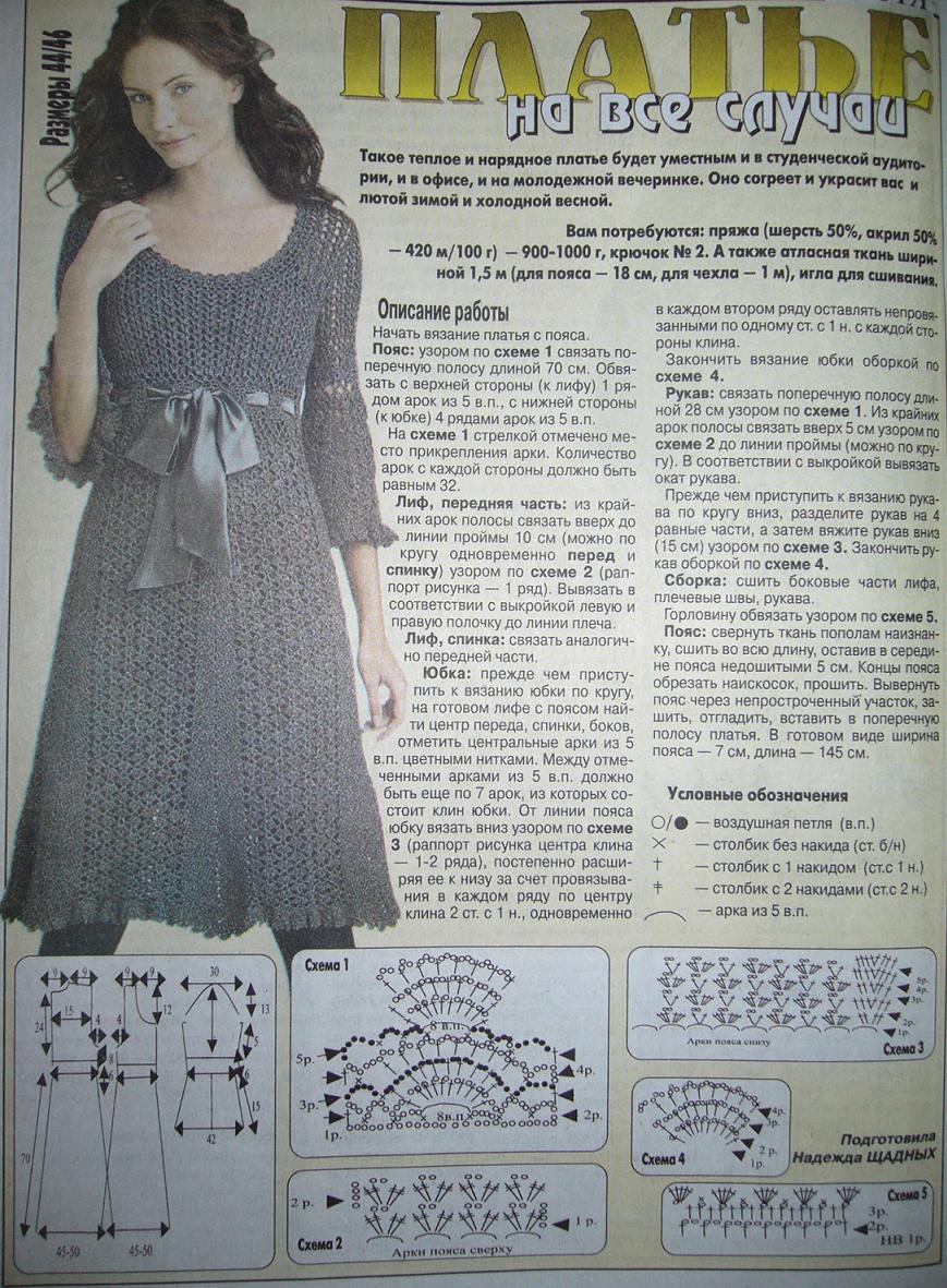 Tuto robe longue au crochet