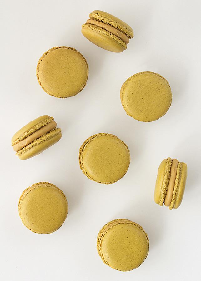 receta macarons caramelo