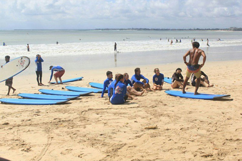 Surf Lessons at UP2U Surf School Bali