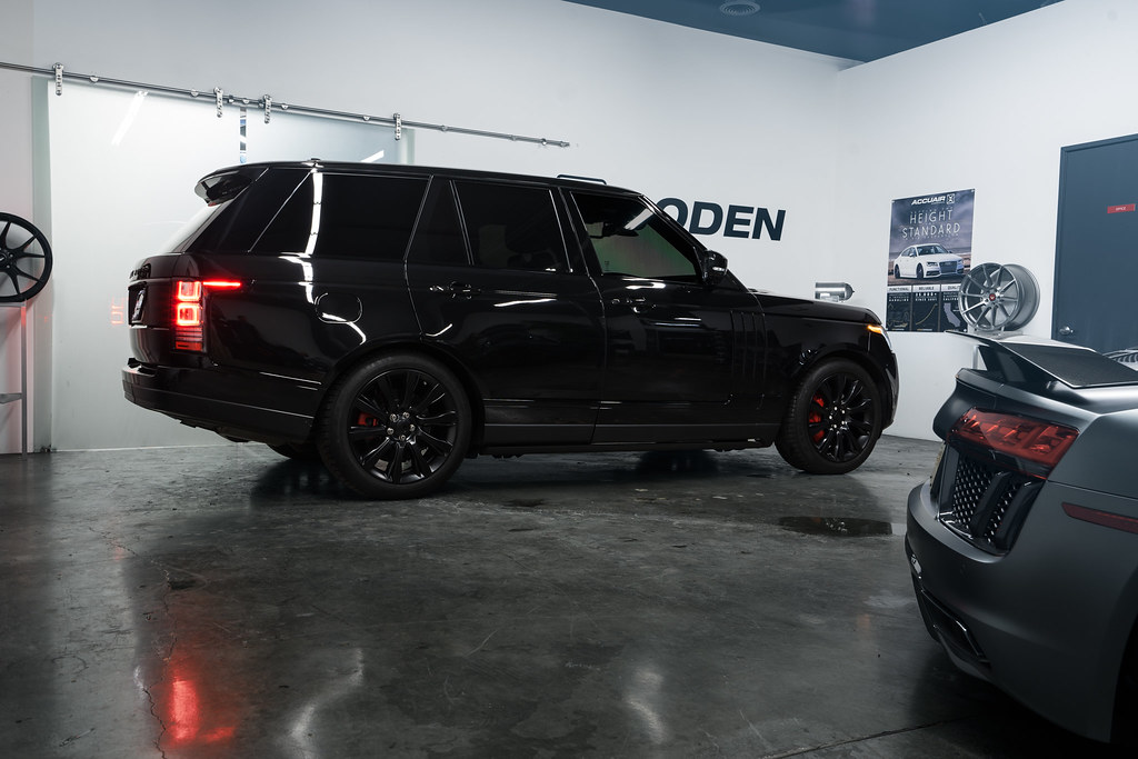 Range Rover for Boden Blackout Package  Boden Autohaus  Flickr