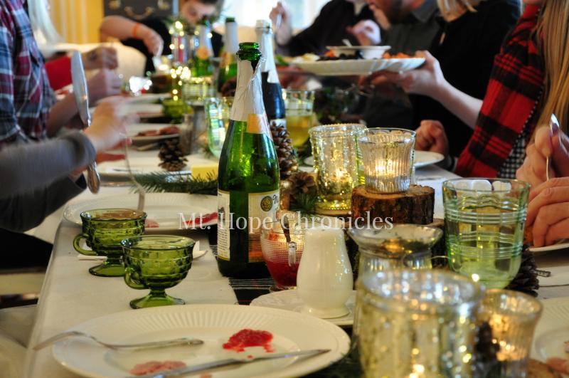 Christmas Dinner @ Mt. Hope Chronicles