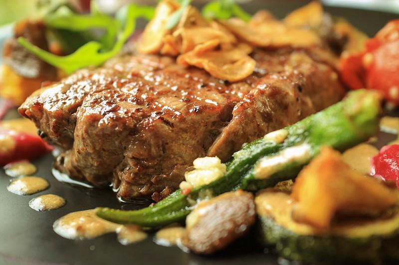 【美食】為了這一道道五顏六色的法式料理而來「Bistro 181法國餐廳」*桃園龜山 | 貝果桑