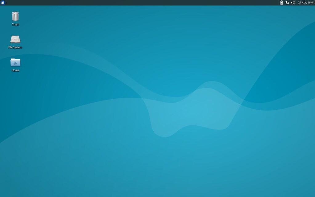 Скриншот рабочего стола Xubuntu