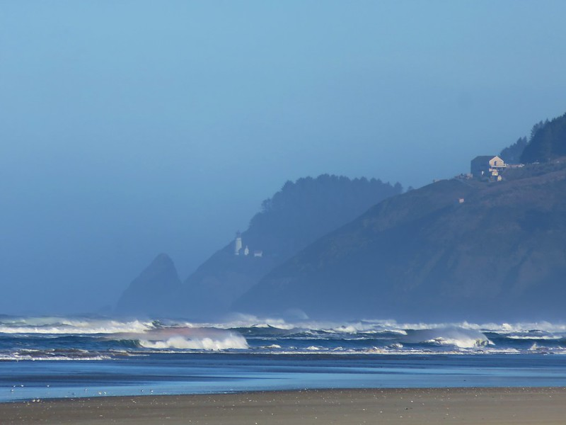 Heceta Head Lighthouse from Baker Beach