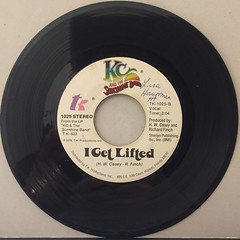 KC AND THE SUNSHINE BAND:BOOGIE SHOES(RECORD SIDE-B)
