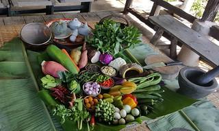 Blue Lagoon Cooking School ingrediants