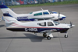 G-HROI Rockwell International Commander 112A