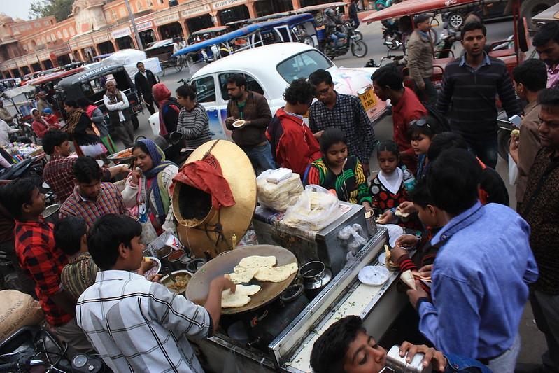 Джайпур, стритфуд, Индия