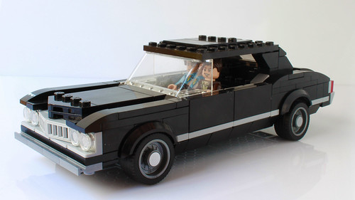 Lego Chevy Impala from Supernatural