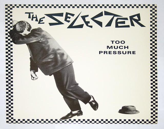 "SELECTER TOO MUCH PRESSURE 12"" vinyl LP"