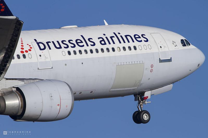 Airbus A330-301 – Brussels Airlines – OO-SFM – Brussels Airport (BRU EBBR) – 2016 11 29 – Takeoff RWY 07R – 01 – Copyright © 2016 Ivan Coninx