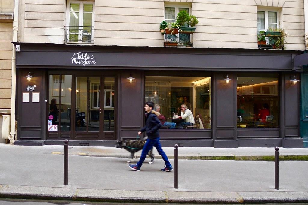 Restaurant La Table De Marie Jeanne Corinne Moncelli Flickr