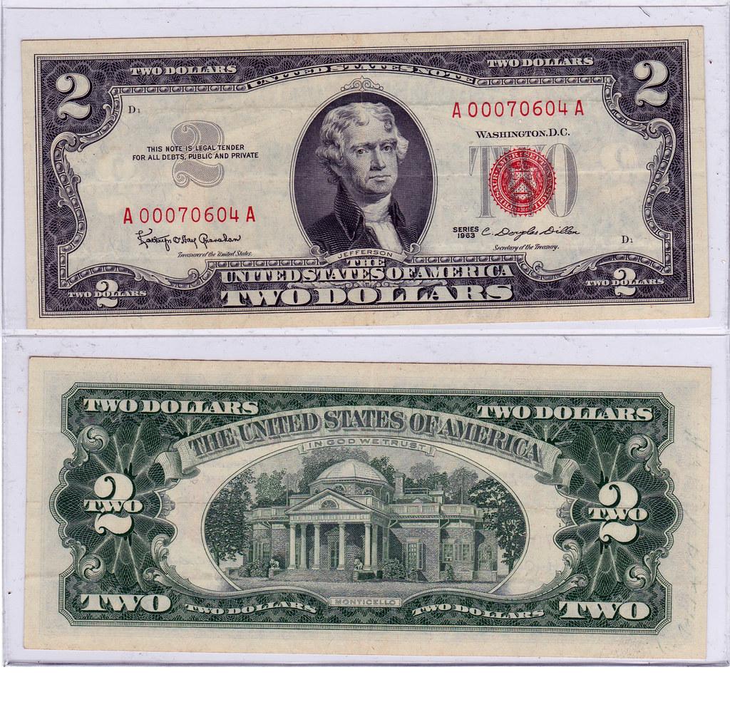 Two Dollars USA 1963 21964124482_9f59eef8c4_b