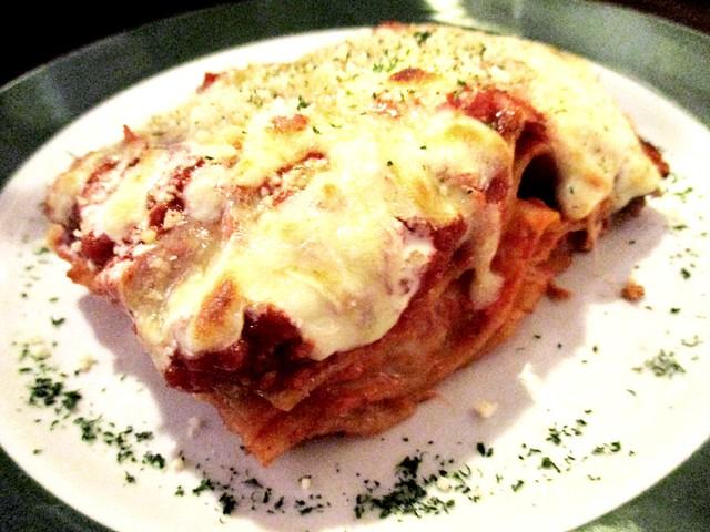 Bistecca & Bistro lasagna