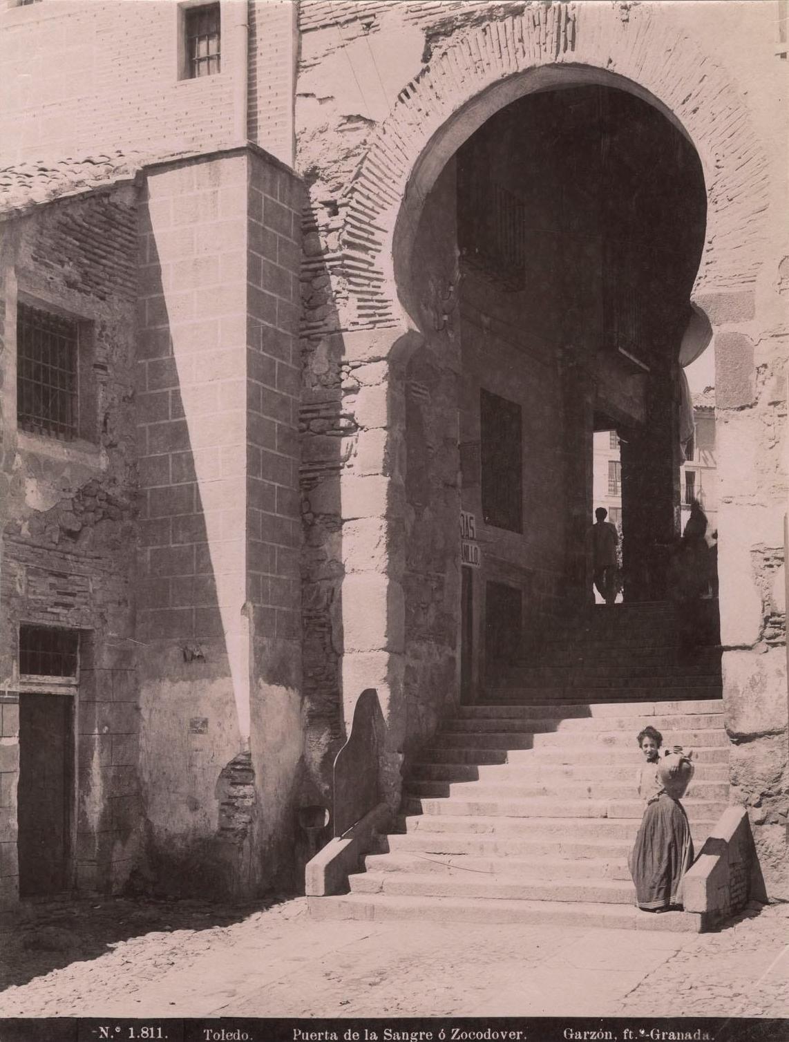 Arco de la Sangre en 1897 por Rafael Garzón