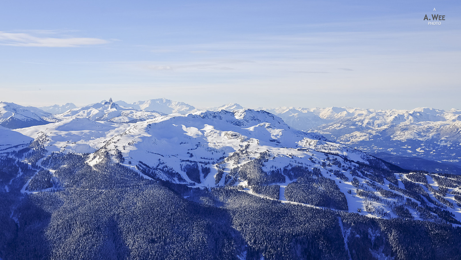 View of Whistler from 7th Heaven