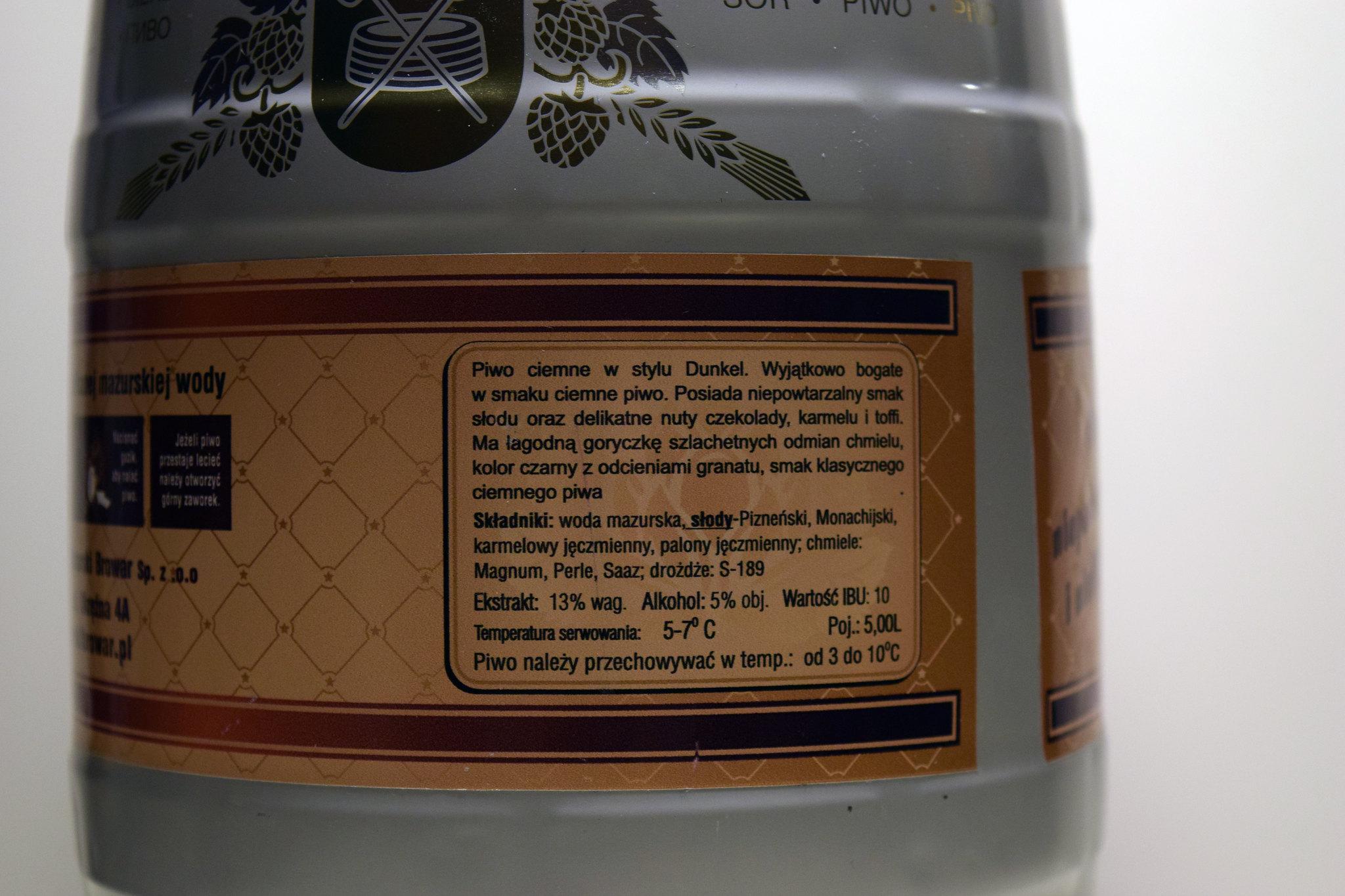 ełckie etykieta 1