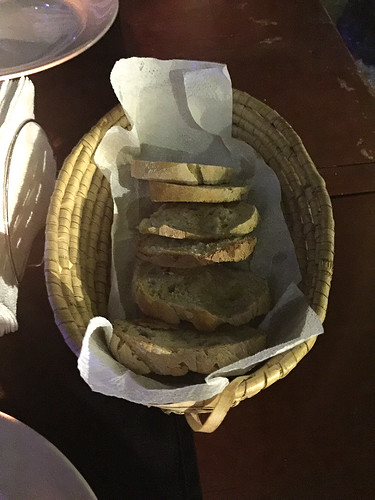 107 - Geröstetes Brot / Toast bread - Restaurante Pizzeria Capitan Kidd