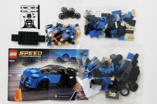 Lego Speed Champions Bugatti Chiron 75878 Review The Brick Fan
