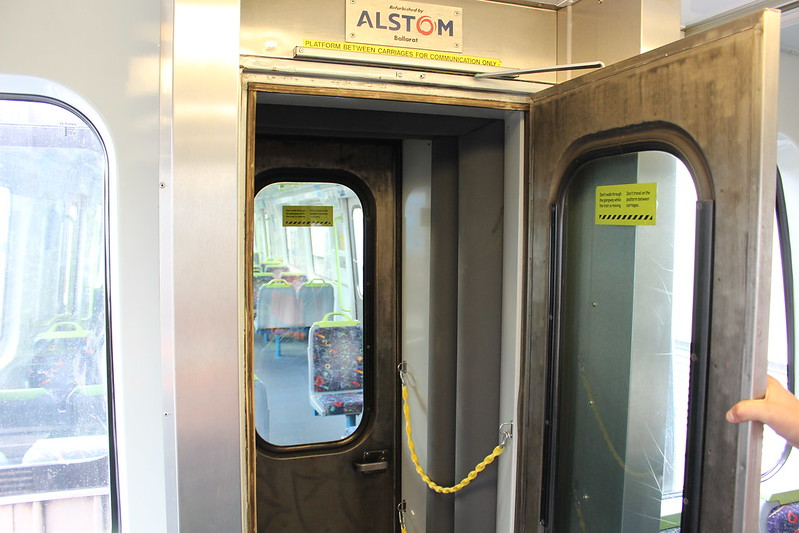 Possible Comeng inter-carriage door upgrade option 2, Craigieburn TMF