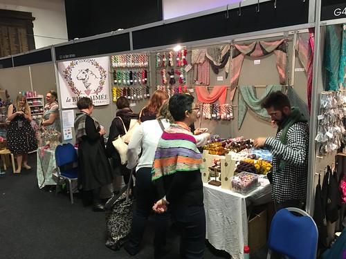 Edinburgh Yarn Festival 2017. Evinok.com for my event roundup blog post.