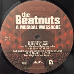THE BEATNUTS:A MUSIC MASSACRE(LABEL SIDE-D)
