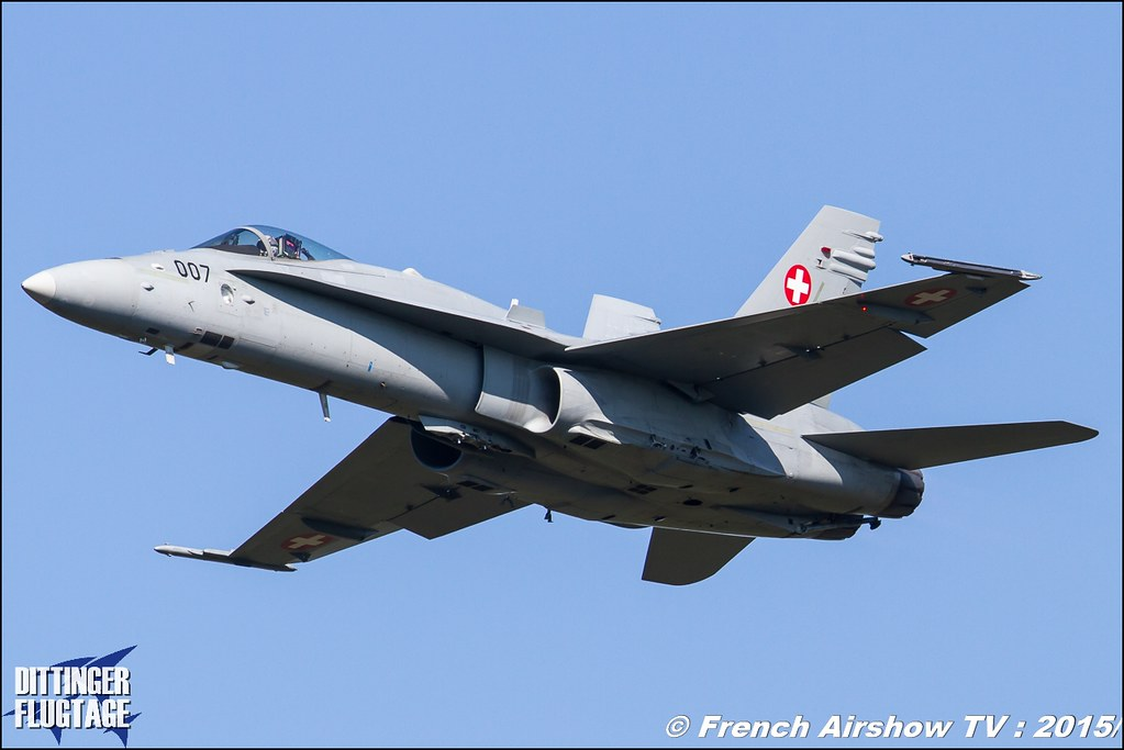 F/A-18 Hornet Solo Display - CH , F-18 hornet suisse display, DITTINGER FLUGTAGE 2015 , Internationale Dittinger Flugtage , Dittingen Flugtage 2015 , Suisse Airshow , Dittinger Flugtage, Meeting Aerien 2015