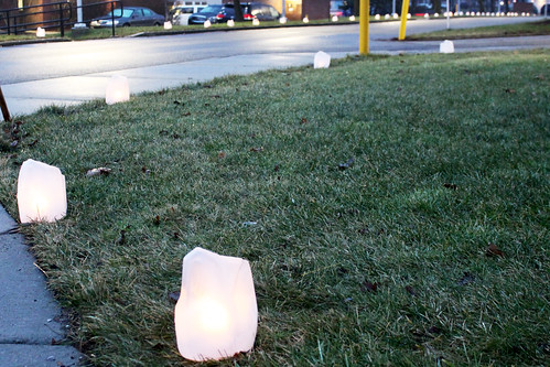 Immaculate Heart of Mary Catholic School luminaries, January 23, 2017