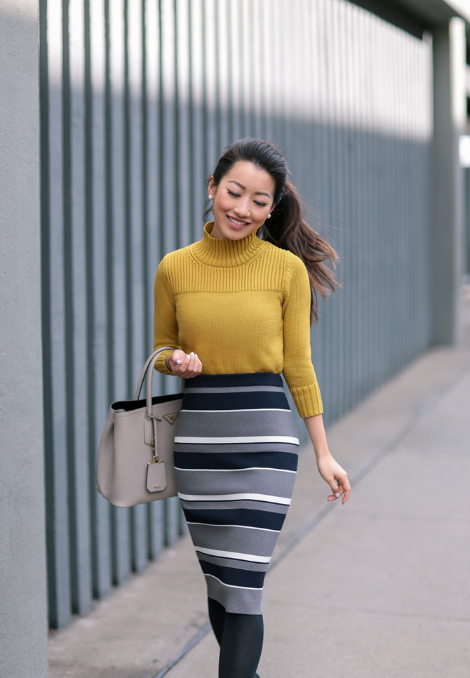blue yellow business casual fashion extra petite