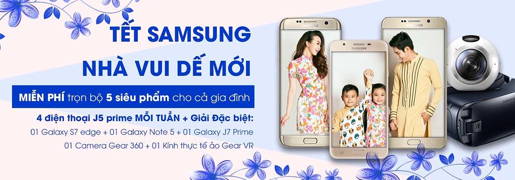 Tết Samsung - Nhà vui dế mới