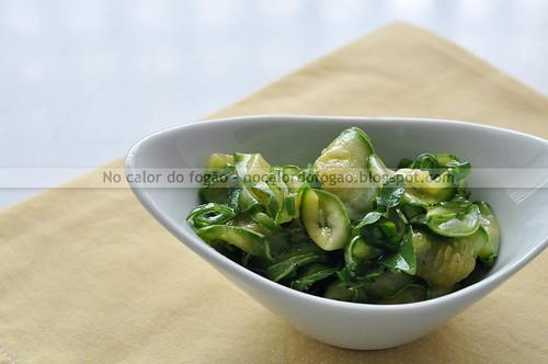 Salada de abobrinha da Bela Gil