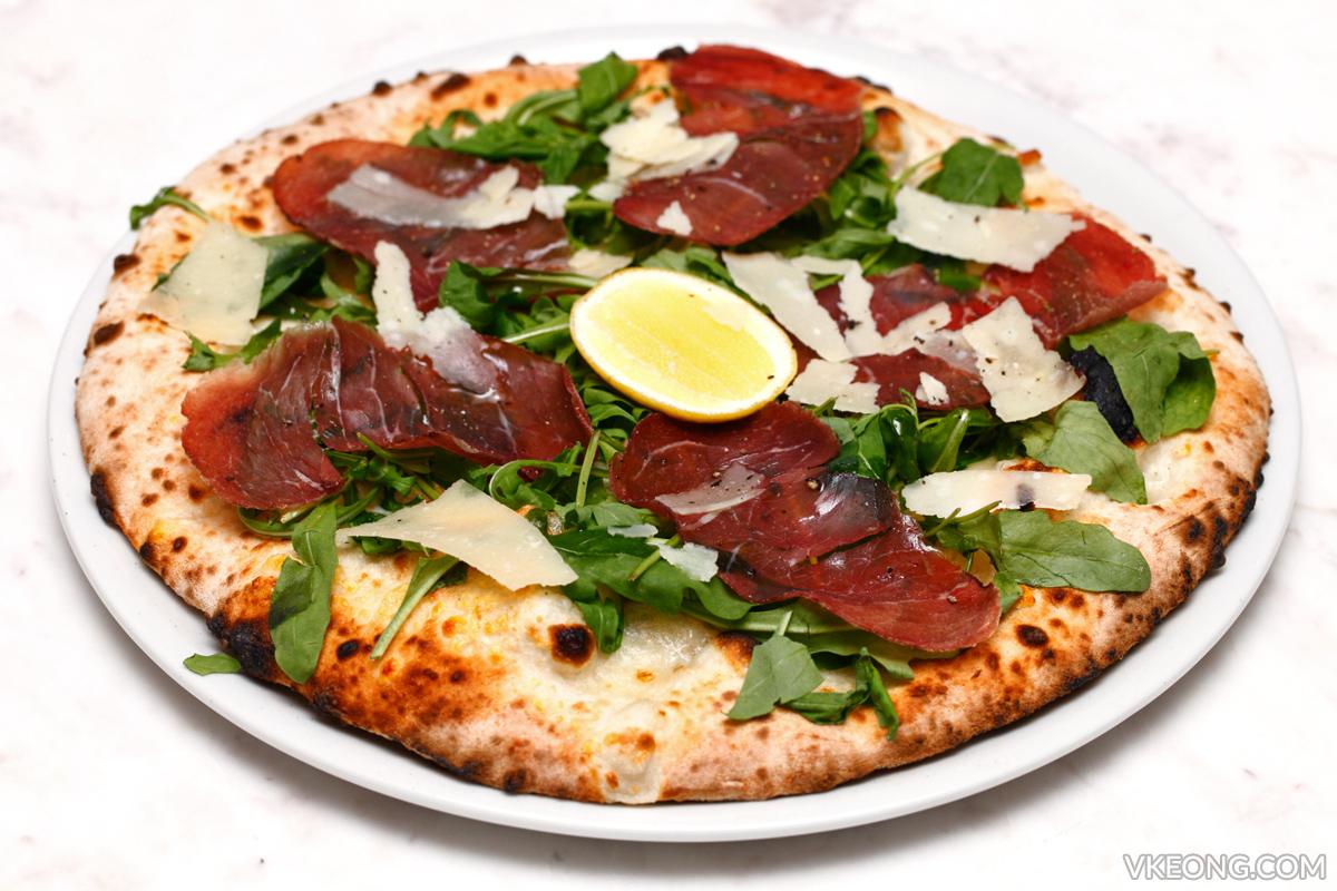 Motorino Aurugula Bresaola Pizza