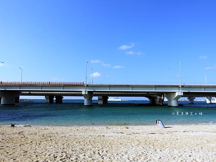 12 沖繩自由行 那霸一日遊 波上宮、波之上海灘、海底觀光遊覽船、白鯨號夕陽遊輪晚餐
