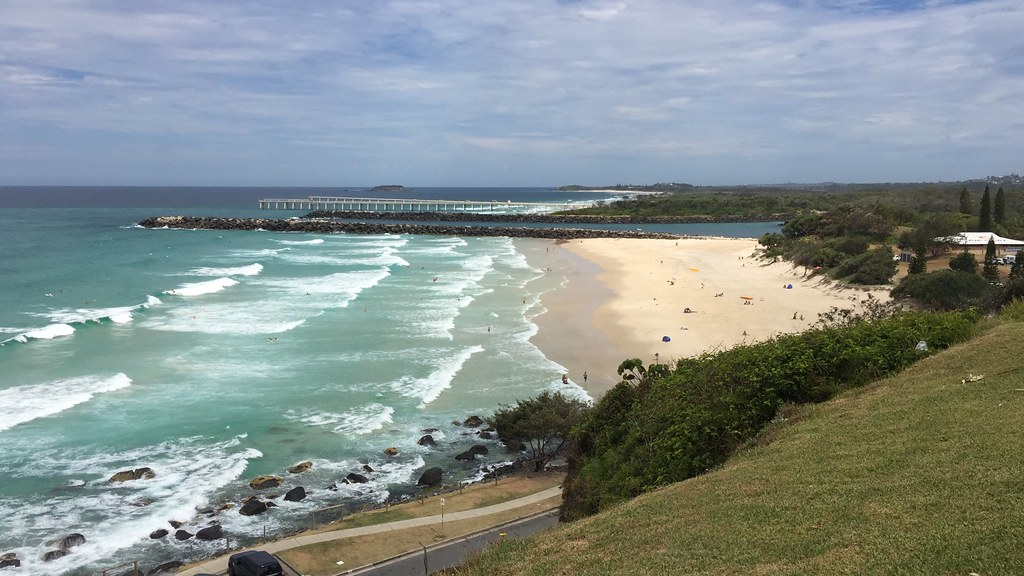 Duranbah Beach Amp Tweed River Mouth From Point Danger On Th