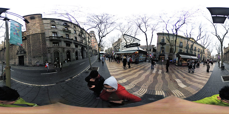 [키미션360]바르셀로나 람블라스 거리