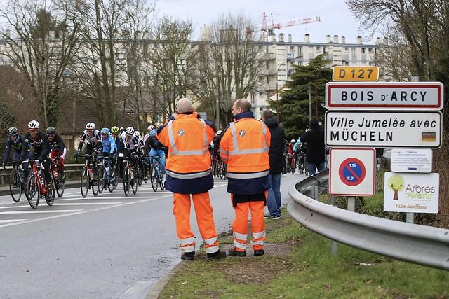 Première étape de Paris-Nice à Bois d'Arcy 2017