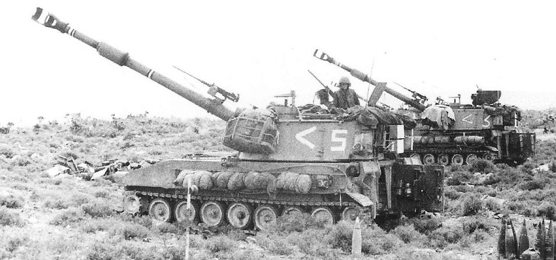 155mm-M109A1B-Rohev-lebanon-1982-onv-1