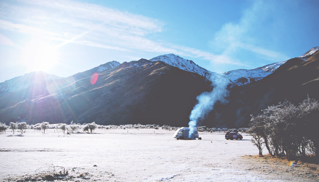 Camping at DOC-sites in New Zealand   via It's Travel O'Clock
